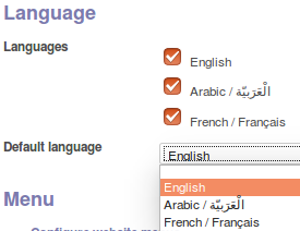 How to Support Multi-Language in Odoo
